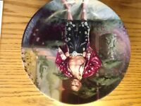 Collectors plate- a puzzlement