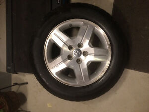 Winter tire's and rims