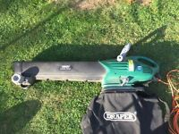 Draper Electric Leaf Blower and Vacuum