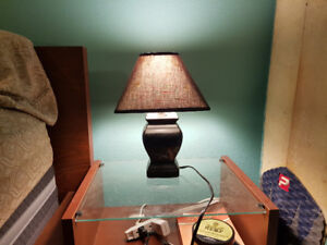Lamp (small / black)