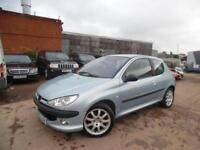 PEUGEOT 206 2.0 GTI 3 DOOR HATCHBACK