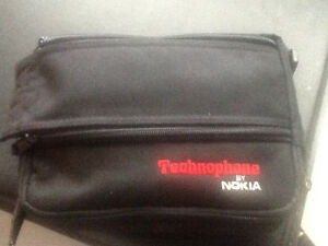 VINTAGE NOKIA TECHNOPHONE BAG PHONE BRICK CELL PHONE LATE 80'SU
