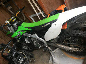 2015 Kawasaki kx250f for sale or trade