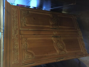 Two Armoire pieces
