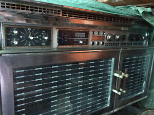 Tappen propane wall oven stove