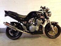 Suzuki bandit street fighter 600cc 1999 years mot
