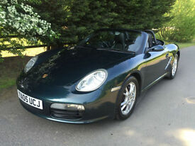 2005 - PORSCHE BOXSTER 2.7 5 SPEED MANUAL SPORTS CONVERTIBLE