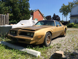 1978 Trans Am ..special edition..6.6 T/a..4/spd..matching #