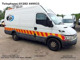 2006 06 IVECO-FORD DAILY MWB, 125BHP,**NO VAT**, LOADS OF HISTORY, RUNS WELL,