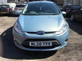 2009 Ford Fiesta 1.4 Titanium, Hpi Clear, Full Service history