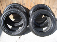 4 - 225/55R17  BRIDGESTONE  BLIZZAK WINTER TIRES - $300