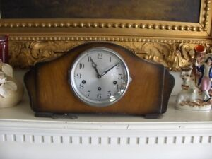 NEW PRICE Antique Mantle Clock  Westminster Chimes circa 1940