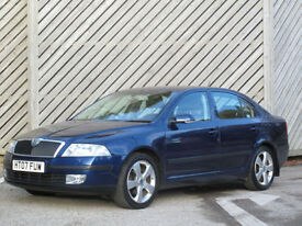 2007 SKODA OCTAVIA 1.9TDI PD Elegance HATCH - ONE OWNER -FULL HISTORY- 60+ MPG !