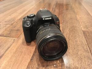 CANON Appareil T3i + objectif 17-85mm usagés + sac 800SR NEUF