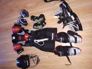 kids hockey equipment for sale
