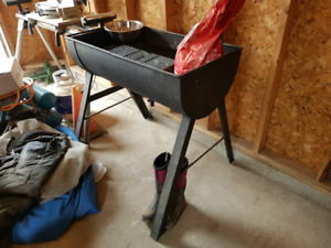 Oil drum Charcoal grill