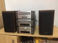 Denon audio system