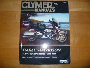 CLYMER SHOP MANUAL M252  FOR HARLEY TOURING