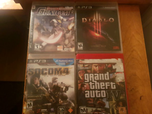 Lot of PS2 and PS3 games