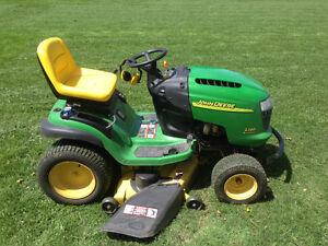 John Deere Lawn Tractors Kijiji Free Classifieds In