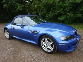 BMW Z3 3.2 Roadster M /1999 / Private Plate / Estoril blue