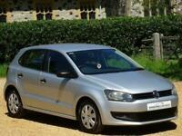 2012 Volkswagen Polo 1.2 60 S 5dr [AC] FULL VOLKSWAGEN SERVICE HISTORY HATCHBACK