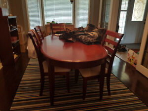 Dining Room Set - Table/Chairs/China Cabinet