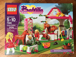 Lego belville 7585 horse stable