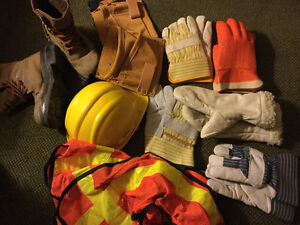 Construction work outfit
