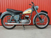 BSA BANTAM D3 150cc MAJOR 1956 LOVELY CLASSIC MOTORCYCLE