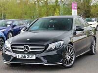 2016 Mercedes-Benz C Class C200 AMG Line Premium 4dr Auto Saloon Petrol Automati