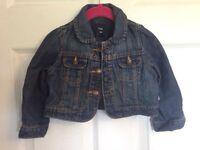 Baby gap 12-18 M jean jacket