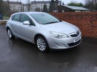 2011-11Vauxhall Astra 1.7CDTi 16v ( 125ps ) SE £30 road tax 56K Miles Leather