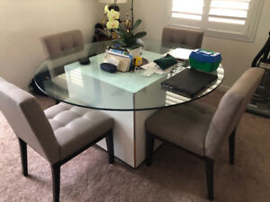 MOVING SALE, Leather Couch, Dining Table, Coffee Tables, Fridge