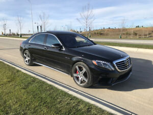 2014 Mercedes S63 AMG w/ winter tires and full history records