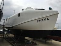 Unique Converted Lifeboat - Skyfall