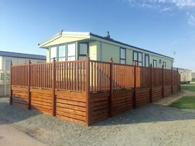Static Caravan for sale ocean edge holiday park Lancaster Morecambe just 8 mins for m6 junction 34