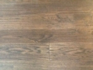 """Unopened box of wood flooring. 5"""" planks , covers 20 sq ft"""