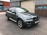 2008 BMW X6 3.0 TD X-DRIVE35 PADDLE SHIFT AUTOMATIC,ONLY 106000 MILES, SAT NAV