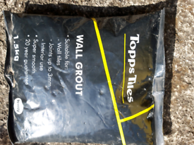 Wall Grout white 1.5kg