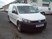 Volkswagen Caddy 1.6TDI 75ps Startline DIESEL MANUAL WHITE (2014)