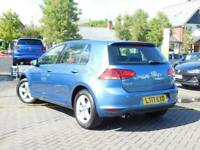 2017 Volkswagen Golf 1.4 TSI BlueMotion Tech Match Edition DSG (s/s) 5dr Auto Ha
