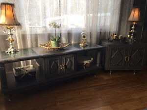 Vintage Coffee & End Table
