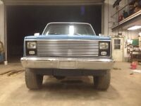 Lifted 1982 Chevy K10