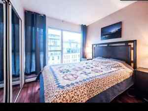 Spacious room in downtown next to sky train station