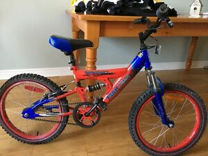Spiderman Bike. For ages 6-8