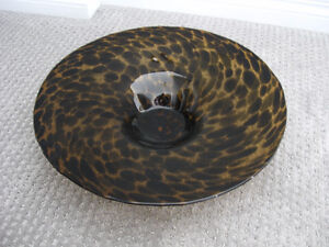 Decorative Brown Speckled Bowl