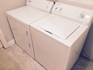 Kenmore washer and dryer almost new