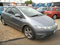 2006 Honda Civic 2.2i-CTDi SE 118K FSH Grey Full Mot Excellent Condition