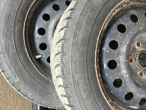 Nokian Winter Tire with Rims